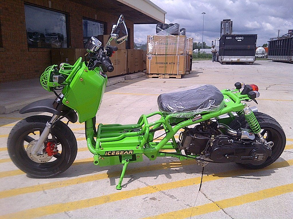 New 50cc Icebear Maddog Gen 1 Scooter Scooter Pit Bike Diy Go Kart