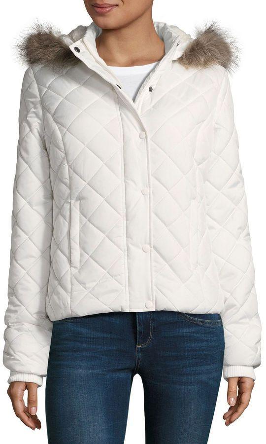a8e0779a4a88 Arizona Diamond Quilt Puffer Jacket - Juniors