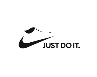Nike Shoe - NEGATIVE SPACE LOGO