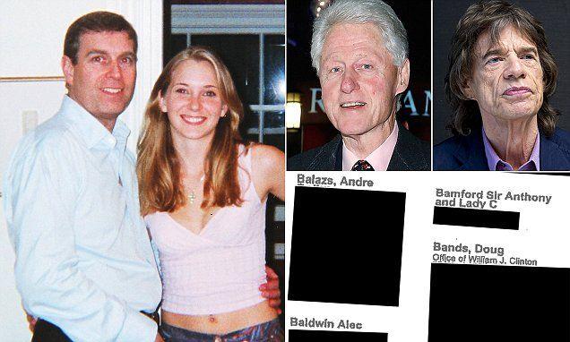 Jeffrey Epstein kept a blacklist nicknamed 'The Holy Grail'