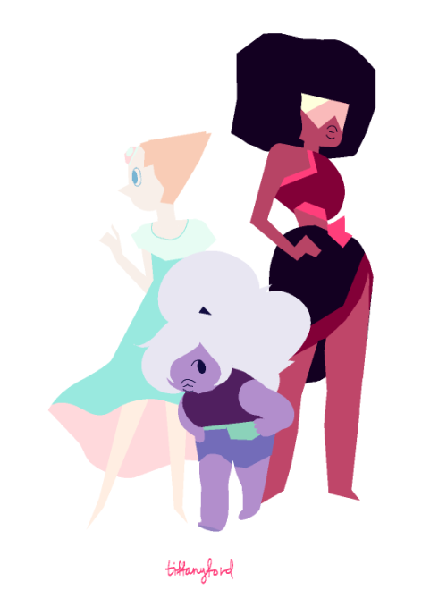 some overdue color blocks for the Steven Universe episode, Beach Party!!