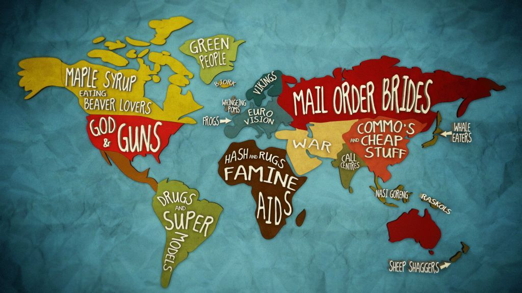 Check Out This Brilliant Global Stereotype Map From The Abc