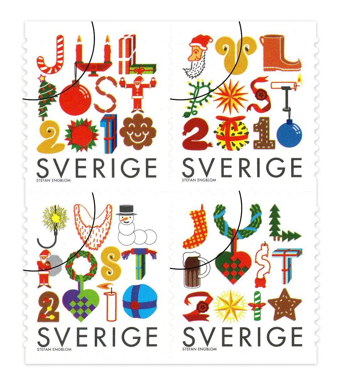 2010 Swedish Christmas stamps