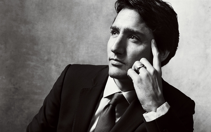 Download Wallpapers Justin Trudeau Portrait 4K Canadian Politician Prime Minister Of Canada
