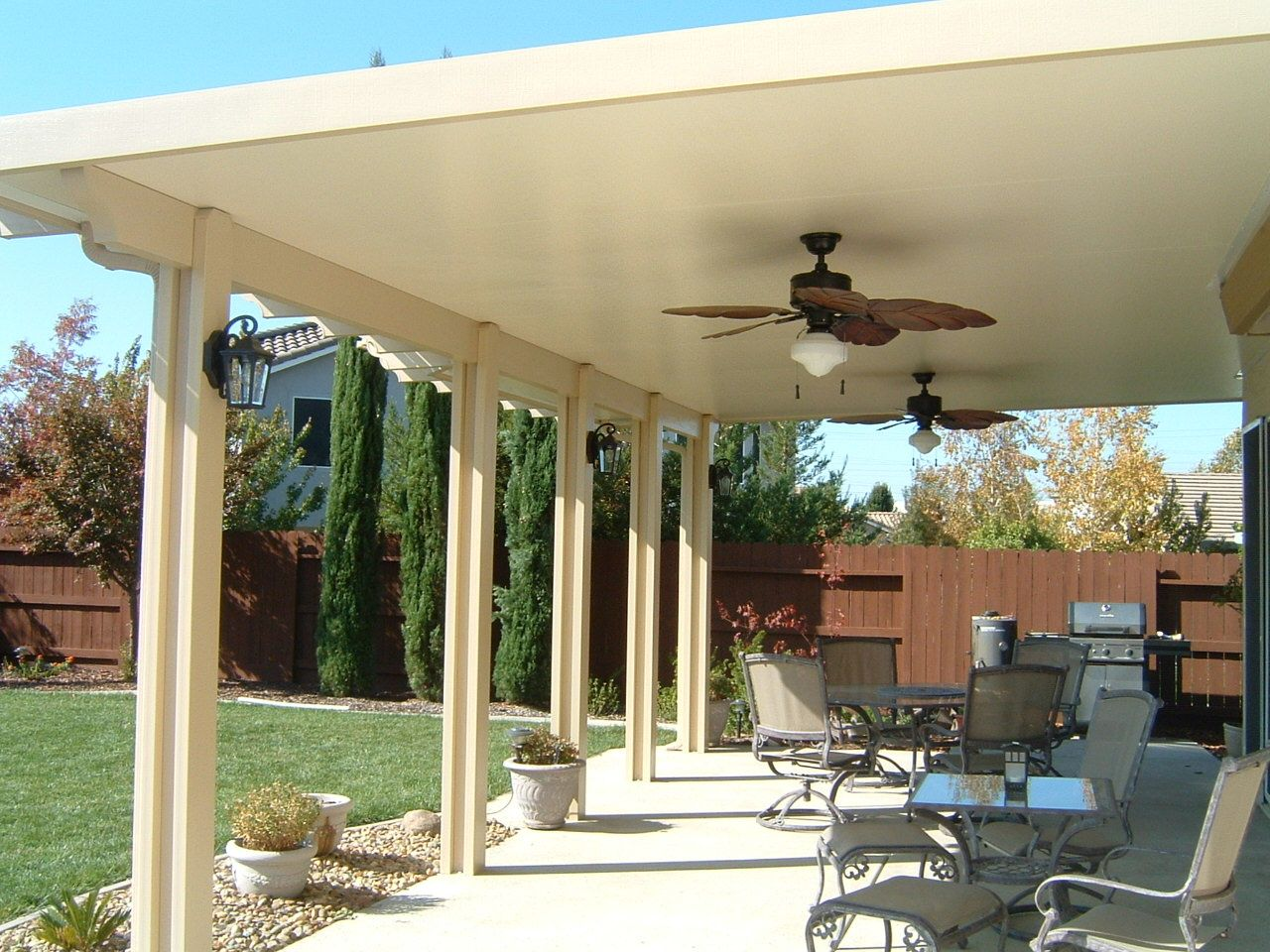 Three Inch Insulated Roof Panels Backyard Gazebo Backyard Patio Furniture Patio