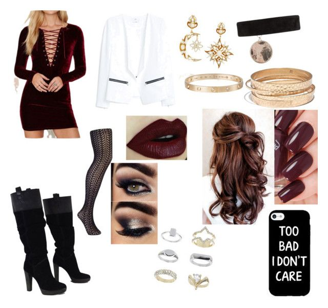 """Birthday party for Louis Tomlison with Louis Tomlinson"" by devin-olson on Polyvore featuring BCBGMAXAZRIA, MANGO, Pamela Mann, Diego Percossi Papi, Givenchy, Cartier, Madewell and Topshop"