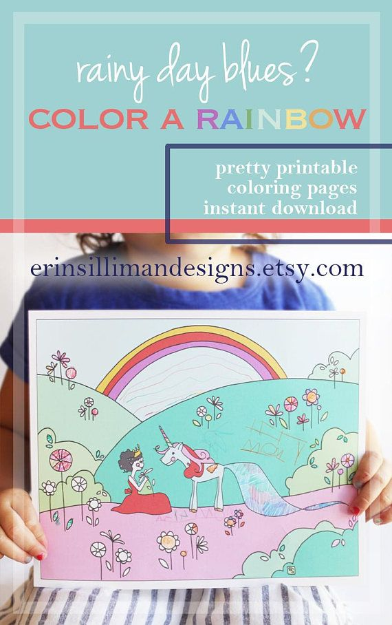 SET Unicorn Coloring Pages Printables Kids Unicorn Coloring