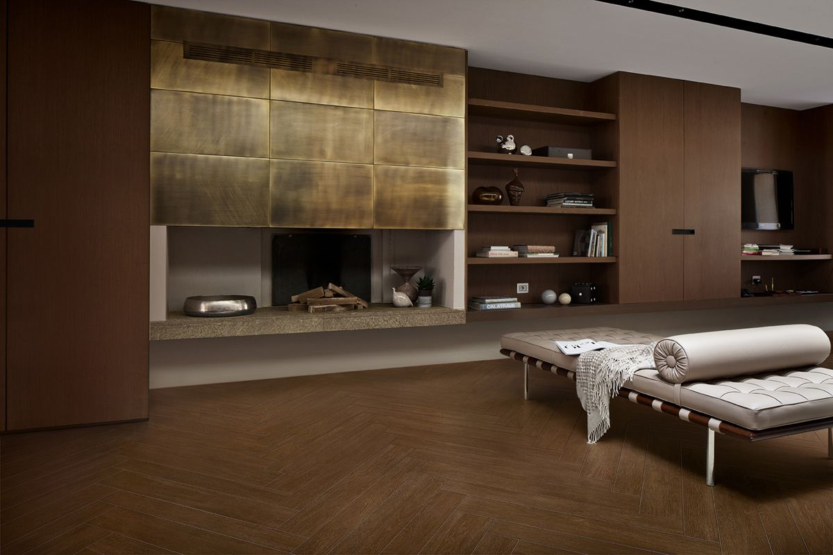 Open Brown 11x90cm + 15x90cm. Collection Open by Margres.