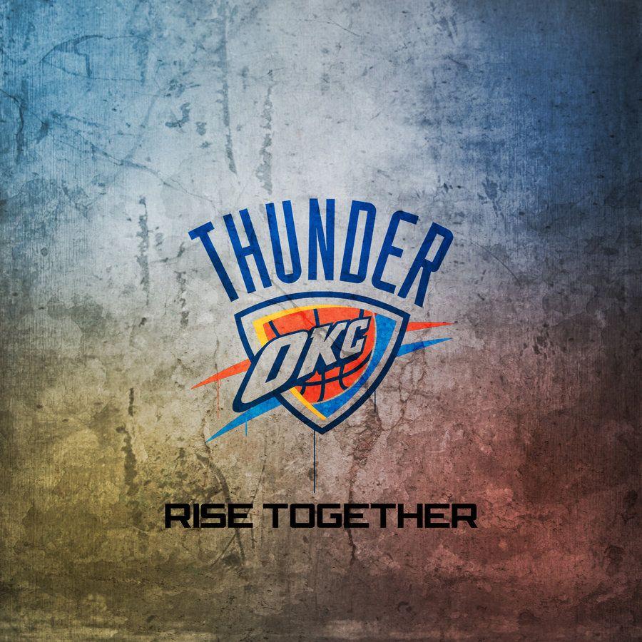 Okc Thunder Rise Together Okc Thunder Thunder Oklahoma City