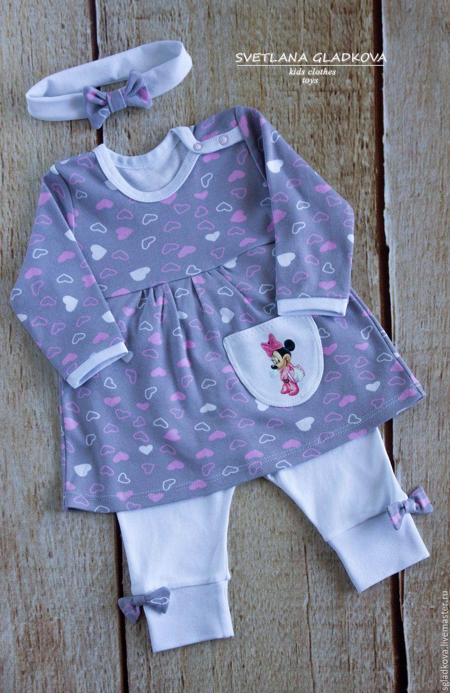 9dc3396888b3 Clothes set for baby   Костюм для девочки - белый