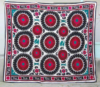 L'Univers d'Inès: Suzani Fabric