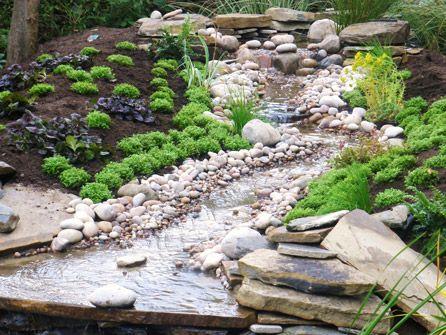 Achla designs lutyens 4 foot bench black for Pond stream design