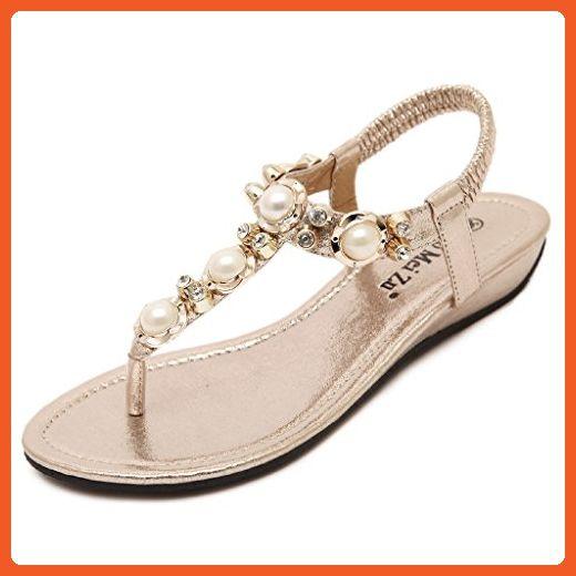 43847b6587e54 Lemontree Women's Summer Bohemia Flip Flop Sandals 127 - Sandals for ...