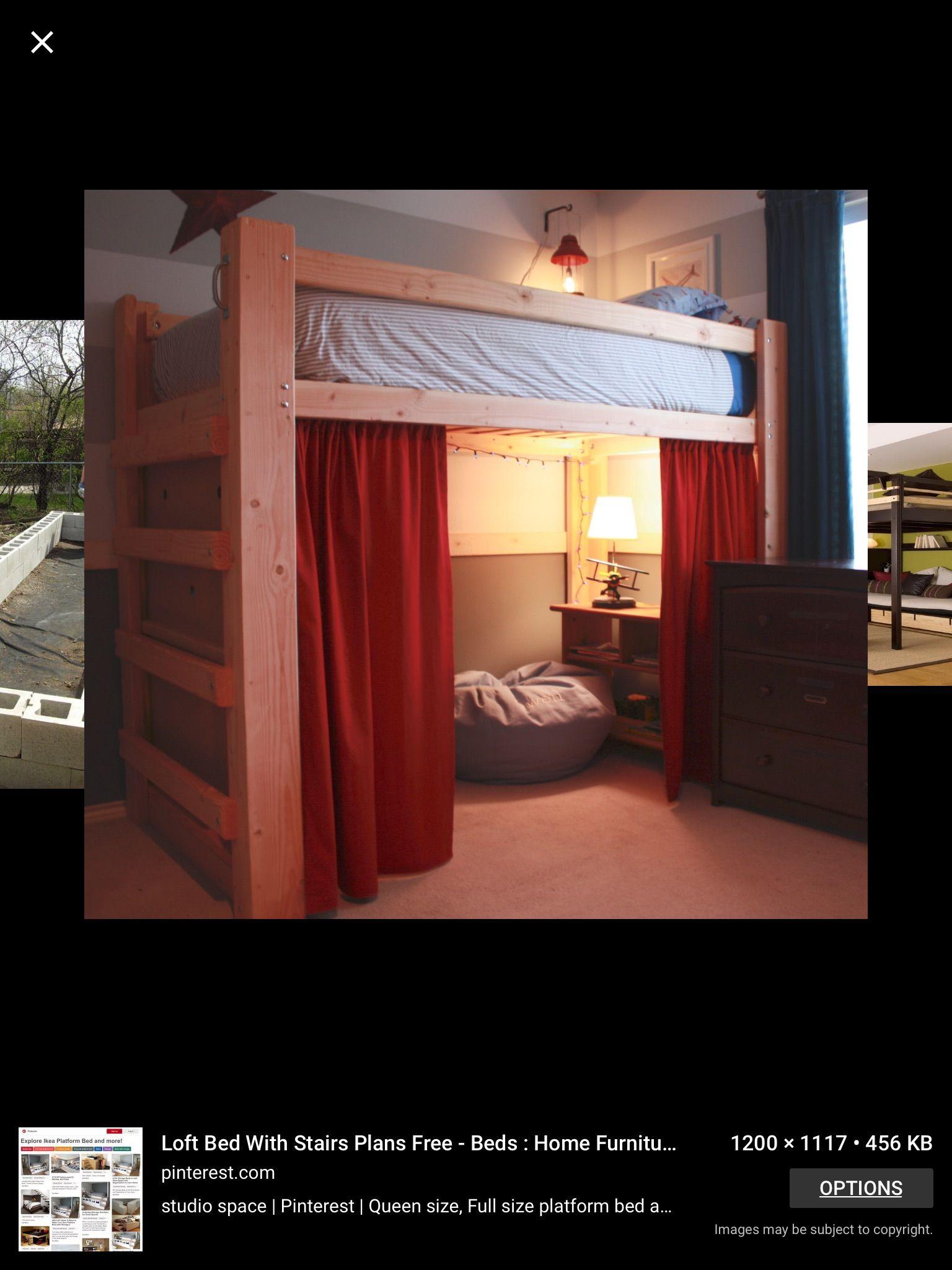 Loft bed ideas for dorm room  Pin by Christina Ruiz on Home Ideas  Pinterest