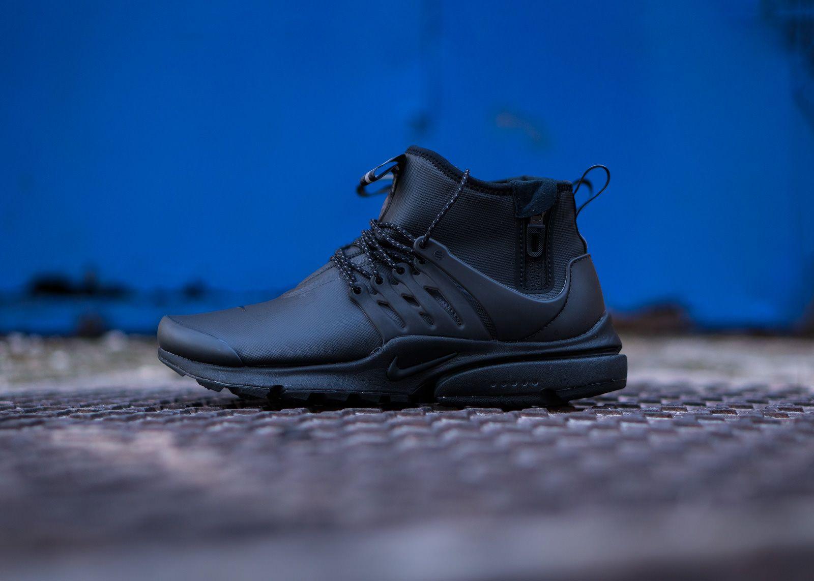 best sneakers b0113 902db ... canada nike air presto utility mid in triple black eu kicks sneaker  magazine 6d5a5 dd7b2 ...