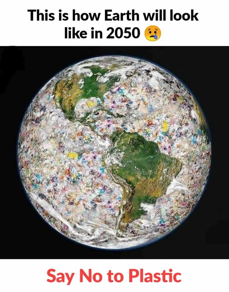This Is How Earth Will Look Like In 2050 Say No To Plastics