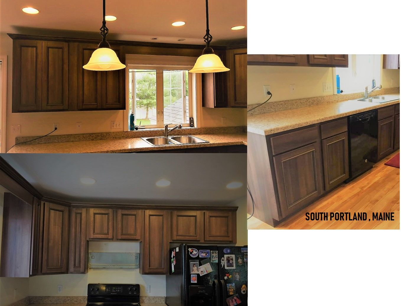Kitchen cabinet refacing in South Portland, ME. Zuccaro ...