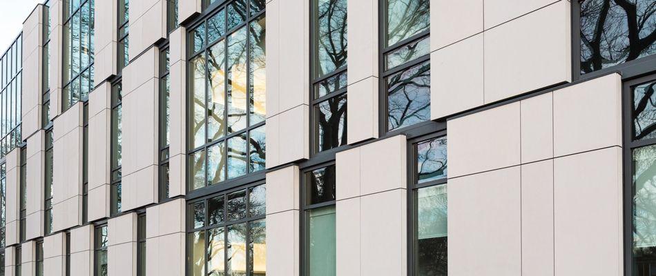 Grc Panels Usa : Taktl ultra high performance concrete facade wall