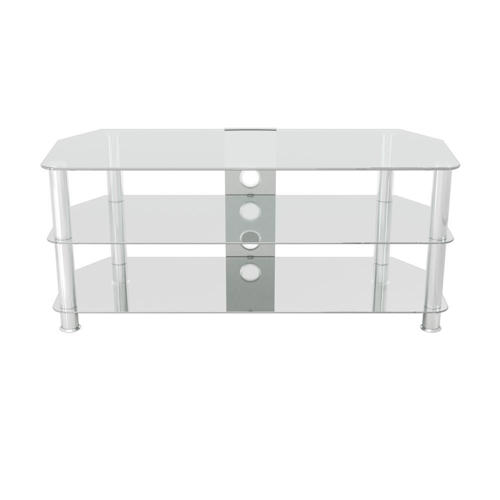 Avf Glass Tv Stand For Tvs Up To 55 In Sdc1140cmcc A Glass