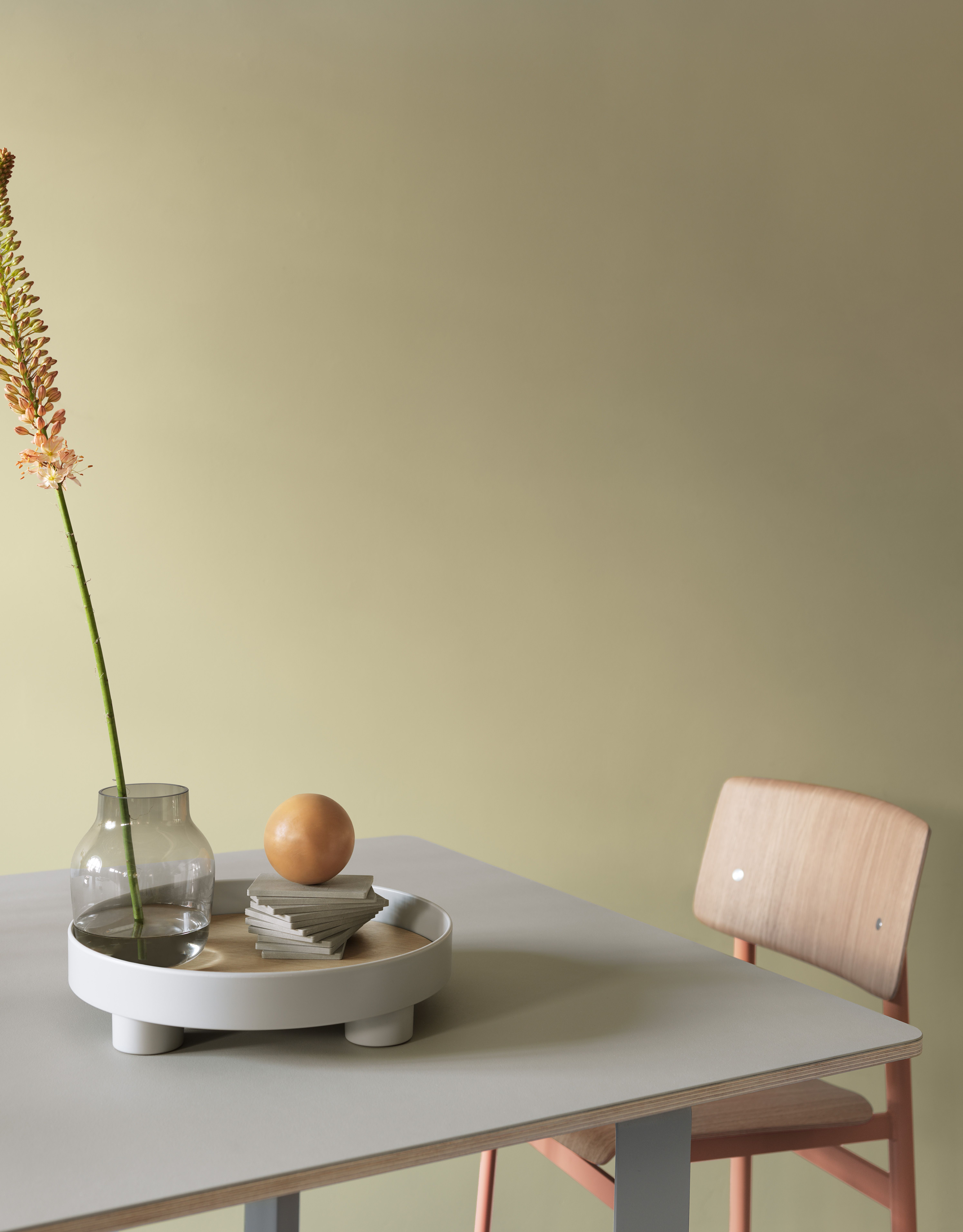 stilleben settings with muuto s platform tray a design that