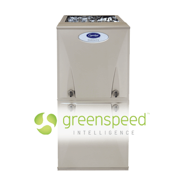 Carrier Infinity Greenspeed Air Conditioning System Installed In