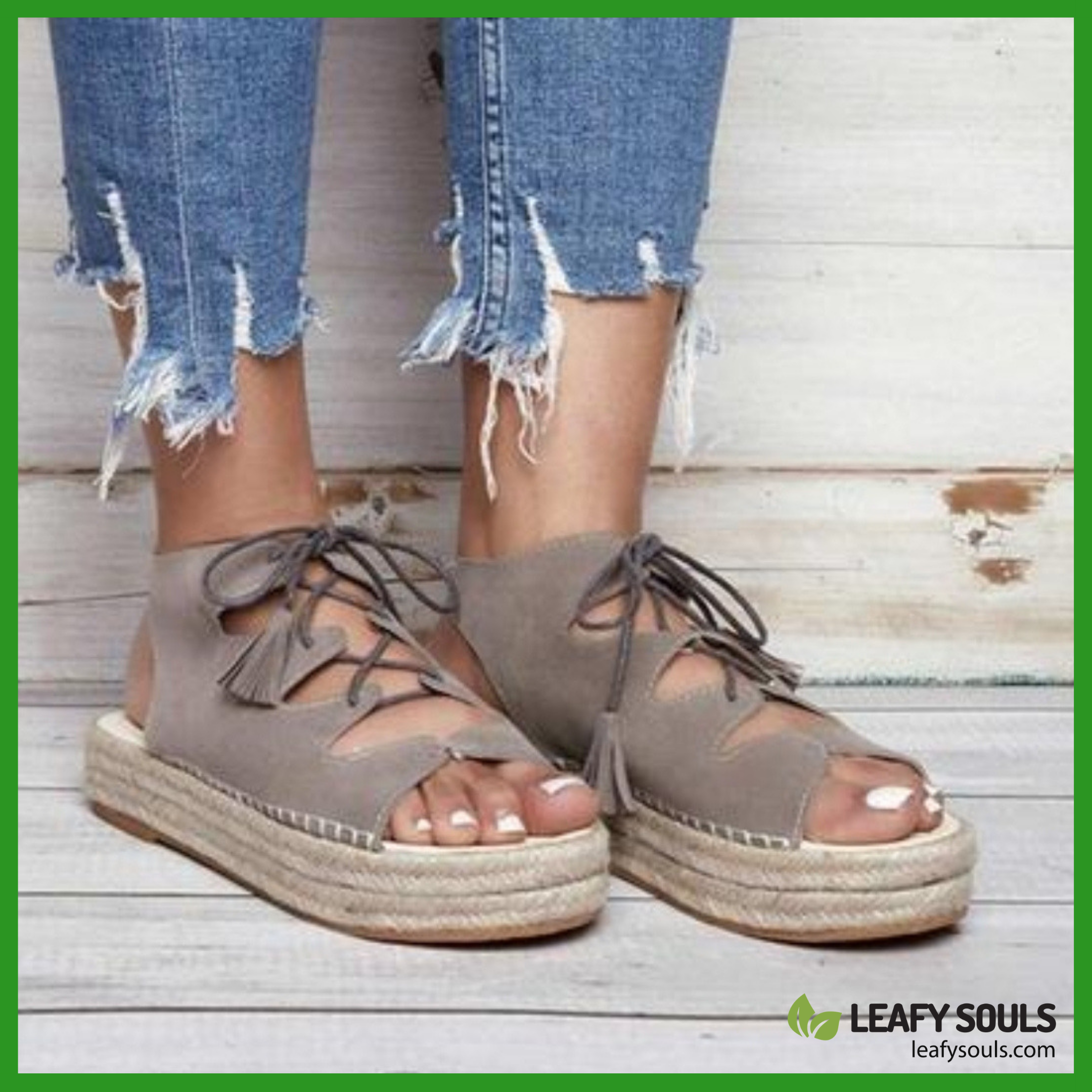 Lyric - Vegan Womens Ankle Cross-Strap Fish Mouth Sandals is on SALE NOW, Check our website for mor