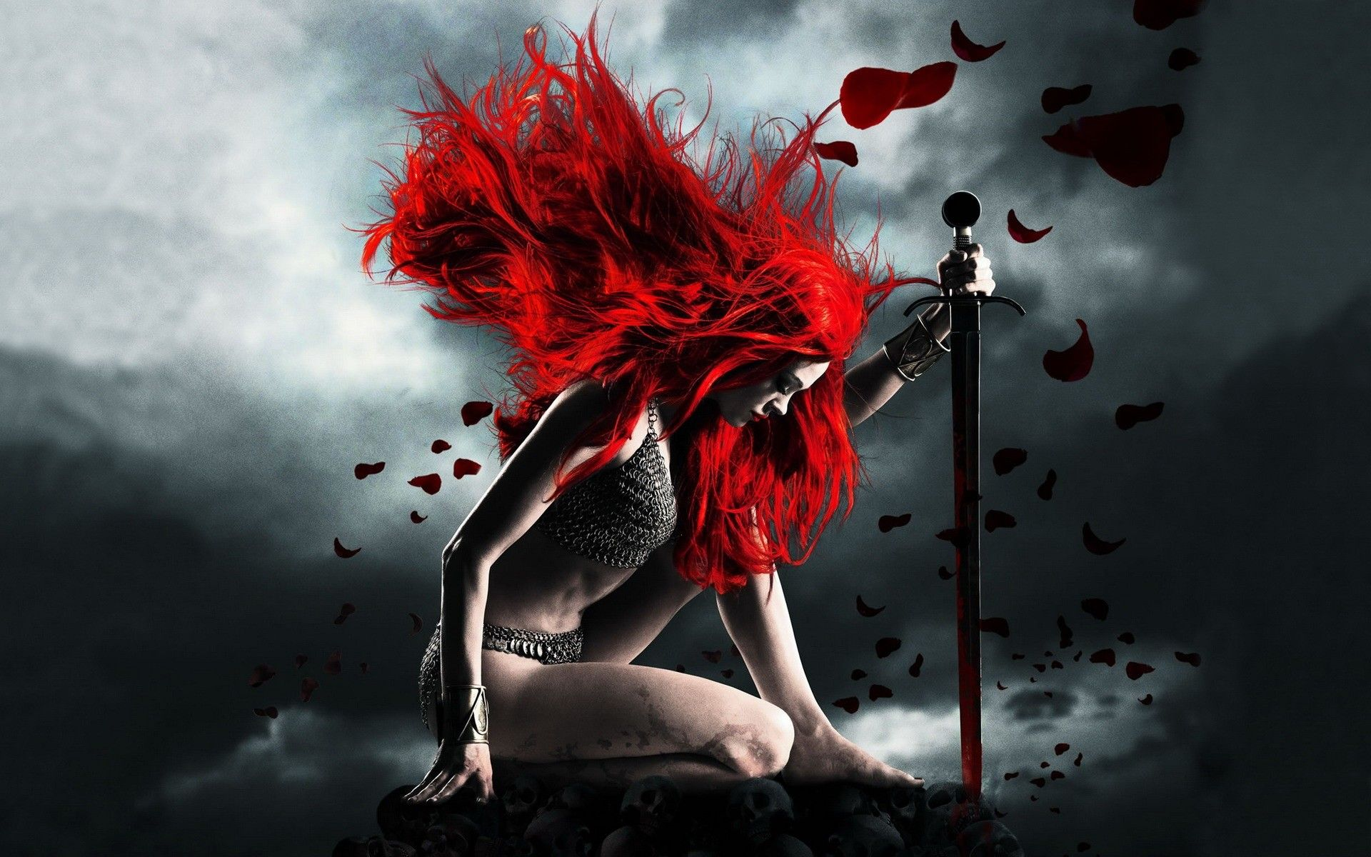 Red Fantasy Red Fantasy Sonja Amazing Wallpapers