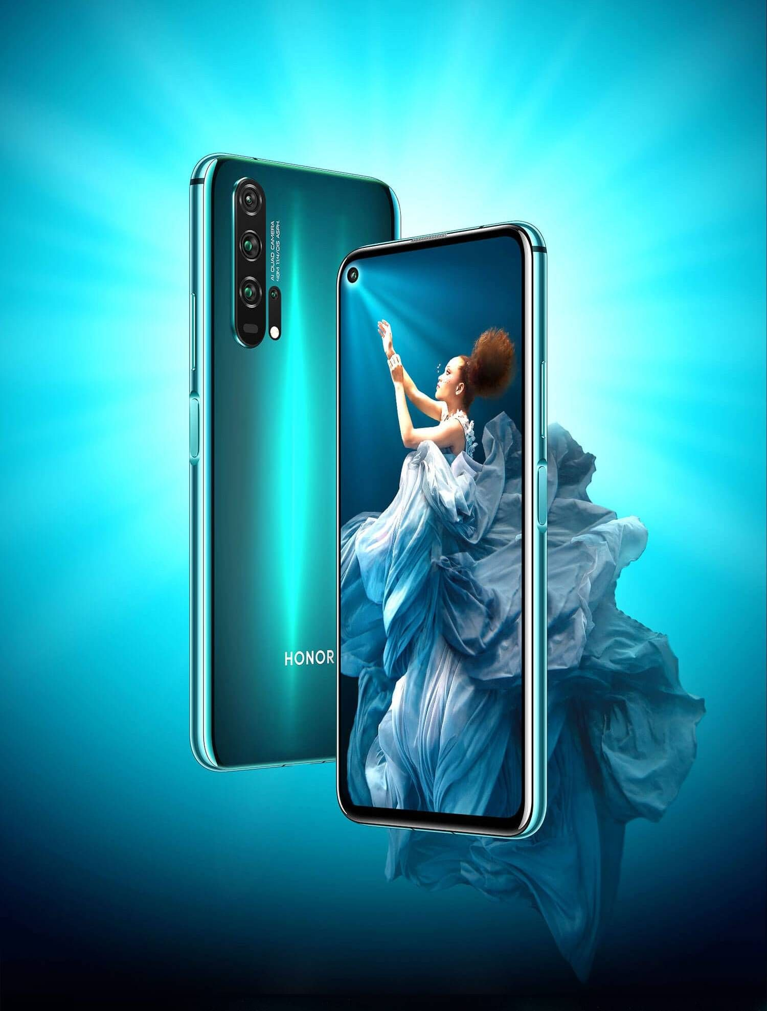 Honor 20 Pro Phantom Blue Best Selfie Camera 8gb Honor