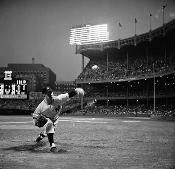 Michael Beschloss On New York Yankees Yankee Stadium New York City