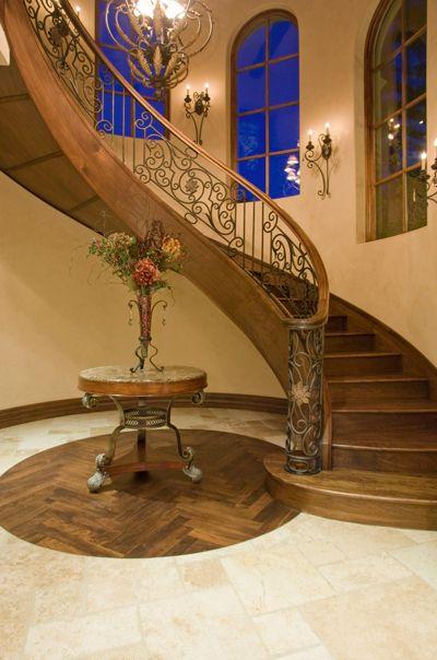 Italian Villa II Foyers and Staircases Pinterest Italian villa