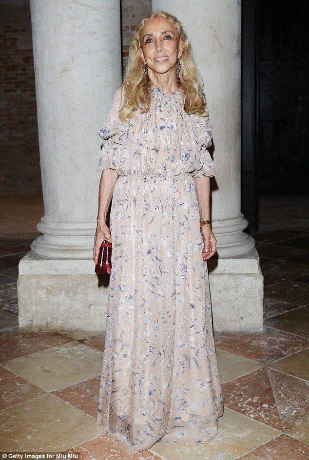 She's in fashion: Vogue Italia's editor-in-chiefFranca Sozzani was also at…