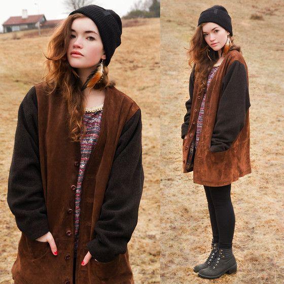 Cute oversized jacket. Grunge fashion