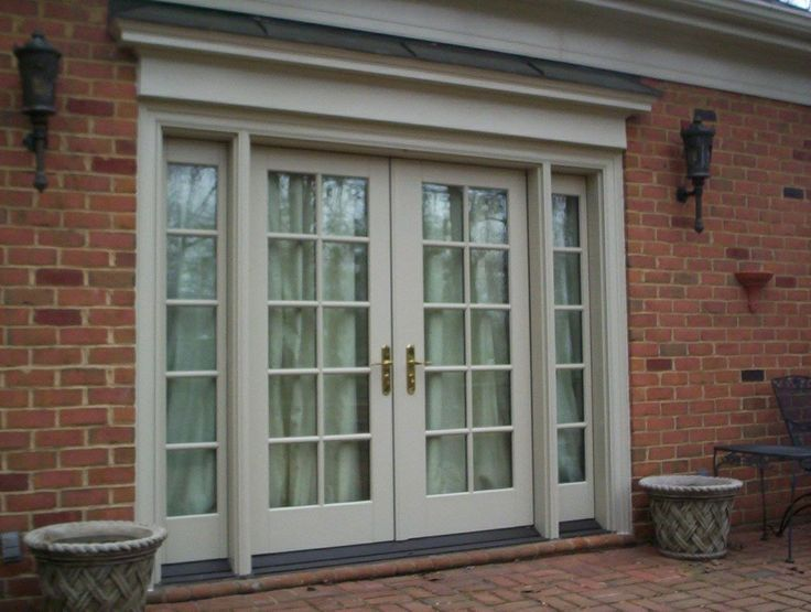 Pella French Doors With Screens Pella Architect Series French