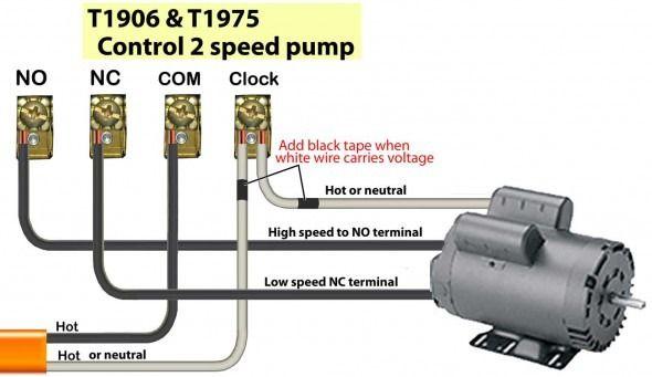 2 speed pool pump wiring diagrams