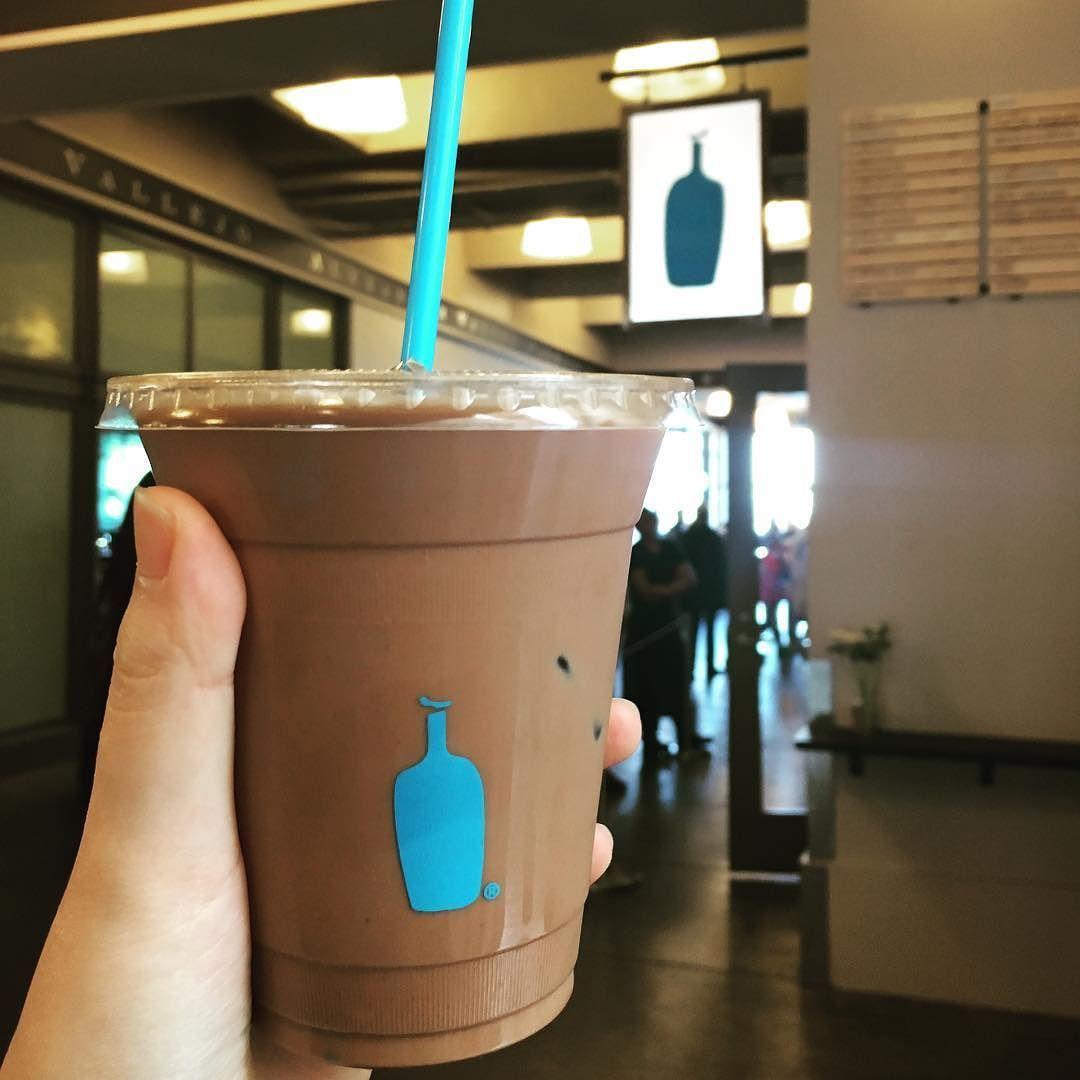 블루바틀 모카라떼'3' 단거 먹으려고 시켰더니 카카오 90% 초콜렛맛이 난다! 해피데이. #샌프란 #블루바틀 #bluebottle #coffee by tresbienj