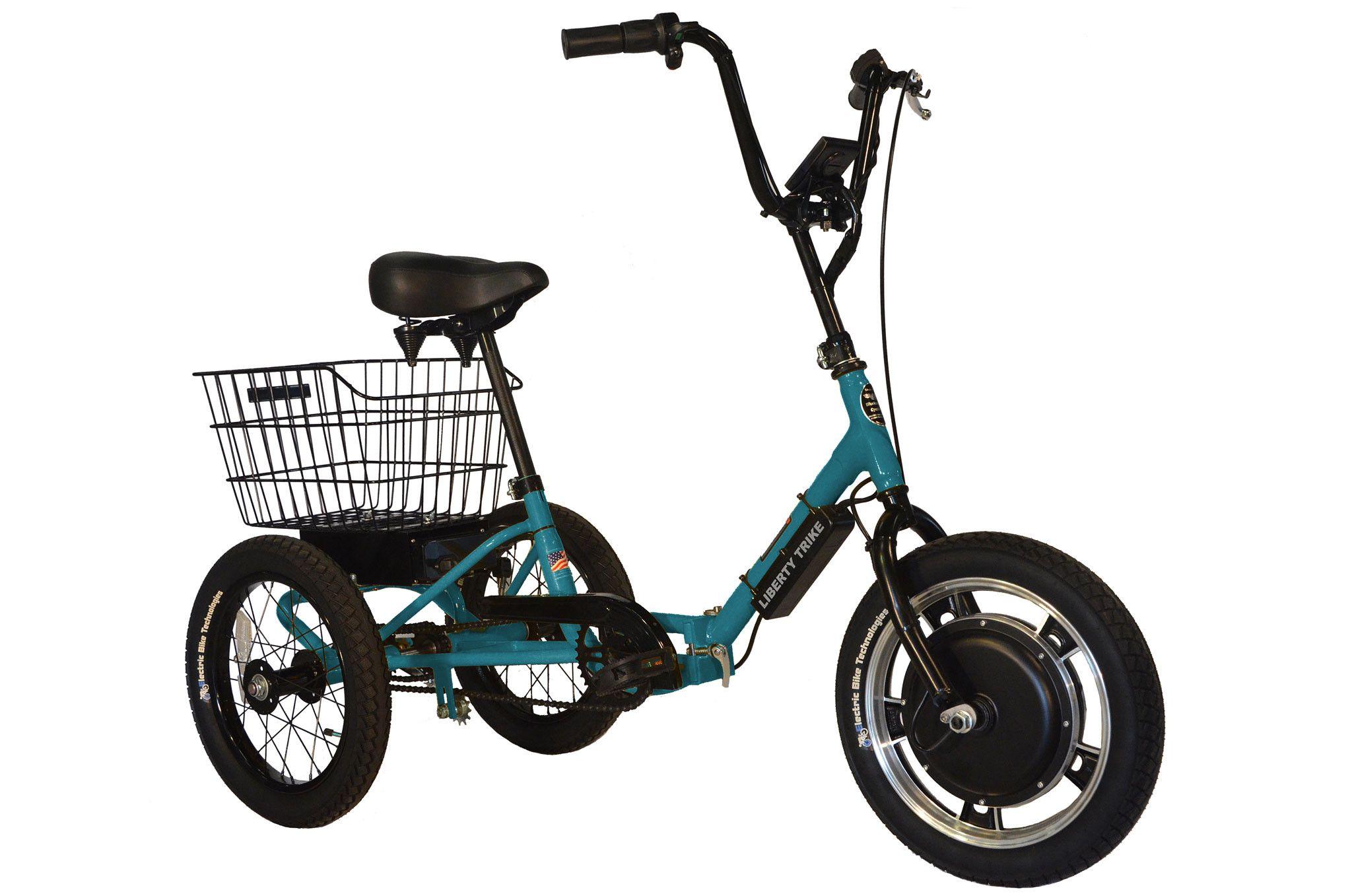 Liberty Electric Trike Teal