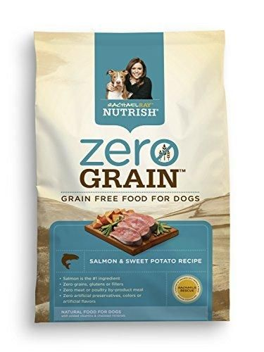 Rachael Ray Nutrish Zero Grain Natural Dry Dog Food Salmon & Sweet Potato Recipe Grain Free 23 lbs
