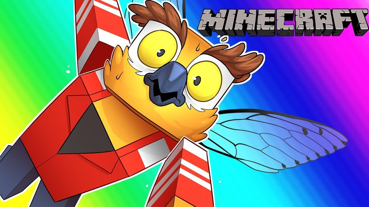 Minecraft Funny Moments The Terrible Quest for Flight