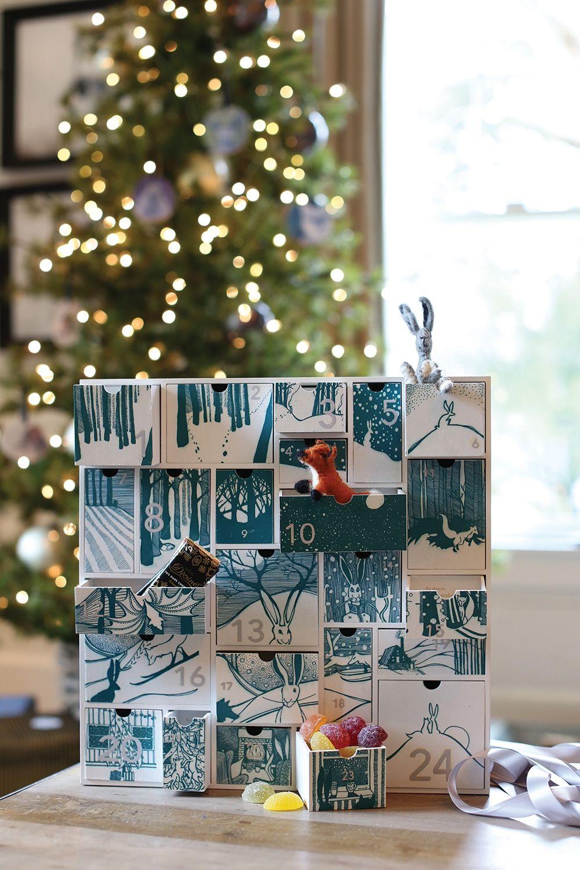 E+E Story Advent Calendar | Advent calendar, Glass vase, Yuletide
