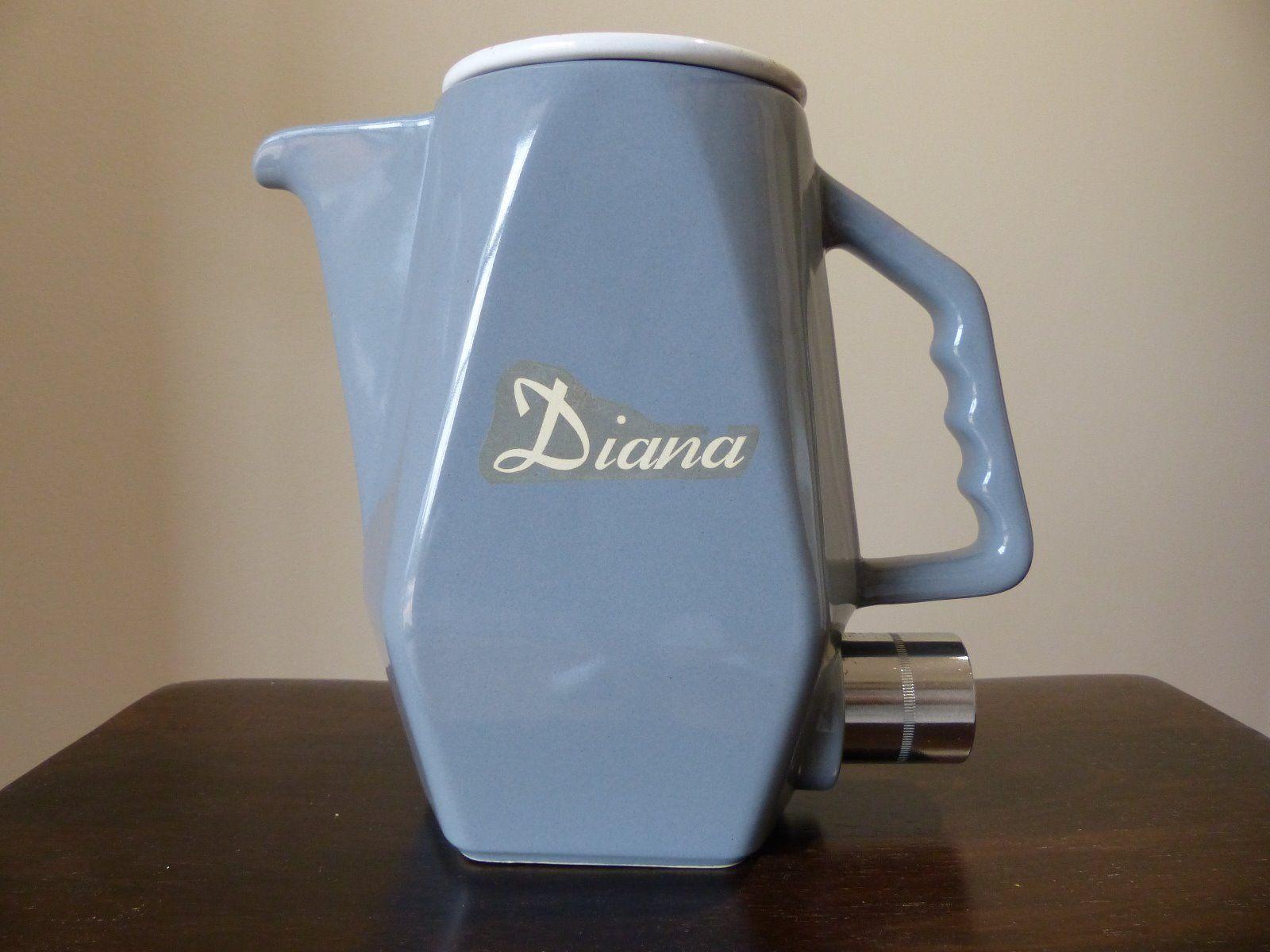 Vintage Australian Diana Pottery Electric Jug Electric Jug Art Deco Glass Pottery