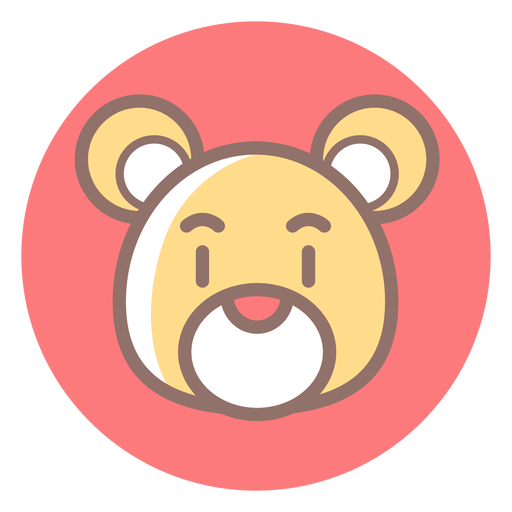Teddy Bear Head Circle Icon Ad Aff Affiliate Bear Icon Circle Teddy Bear Head Business Card Template Word Teddy