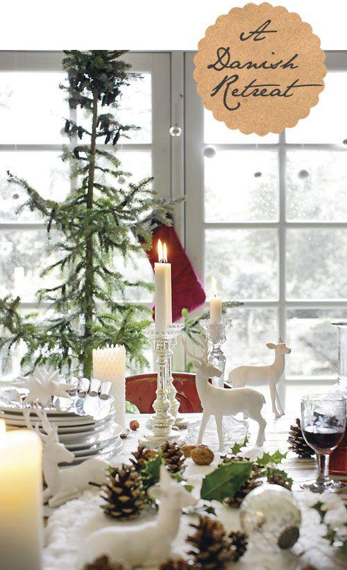 Scandinavian Interior Christmas Natural Interior Design Christmas Table Settings Christmas Tablescapes Christmas Decorations