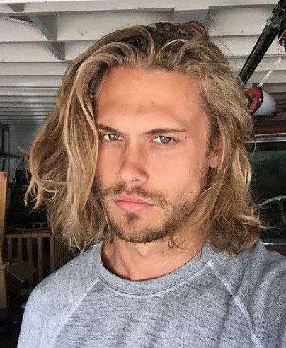 Best Hair Men Medium Blonde 53 Ideas | Long hair styles ...