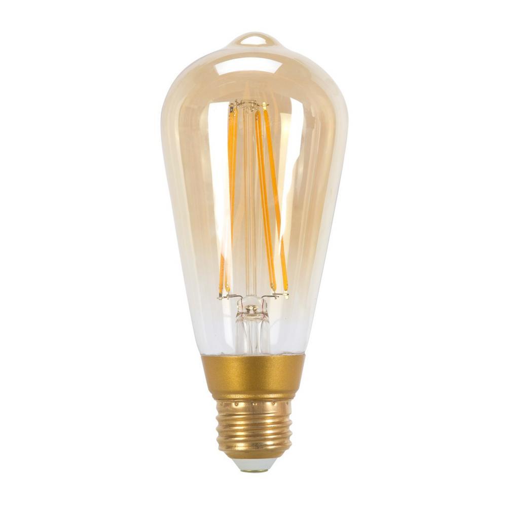 60w Equivalent Soft White 2200k Vintage Edison Dimmable Led