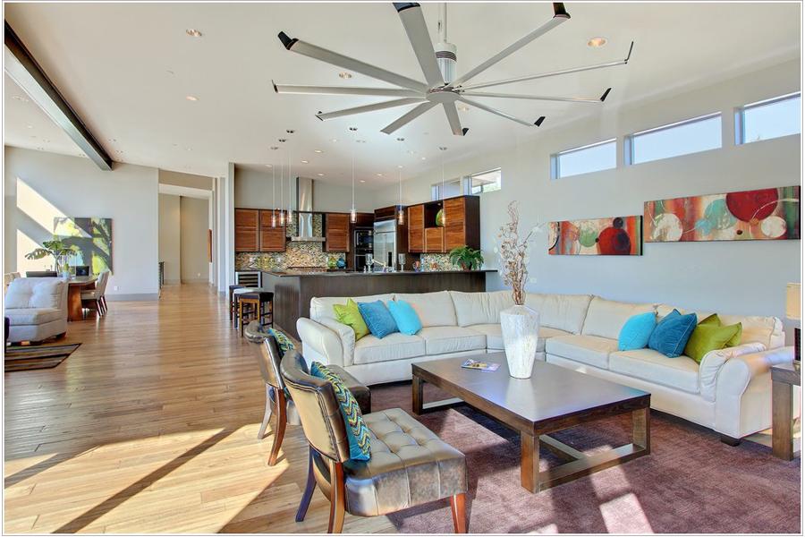 Best Ceiling Fan In 2020 Mid Century Modern Living Room Mid Century Modern Living Room Design Modern Ceiling Fans Living Room