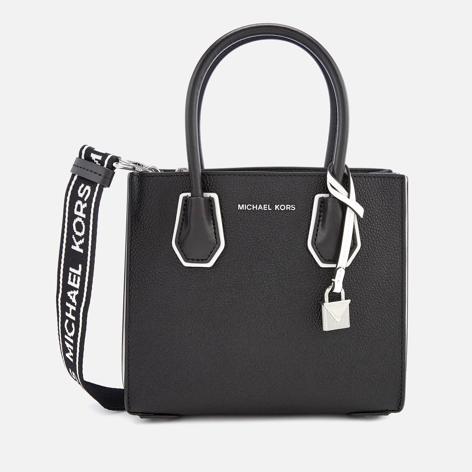 MICHAEL Michael Kors Black Mercer Accordion Messenger Bag