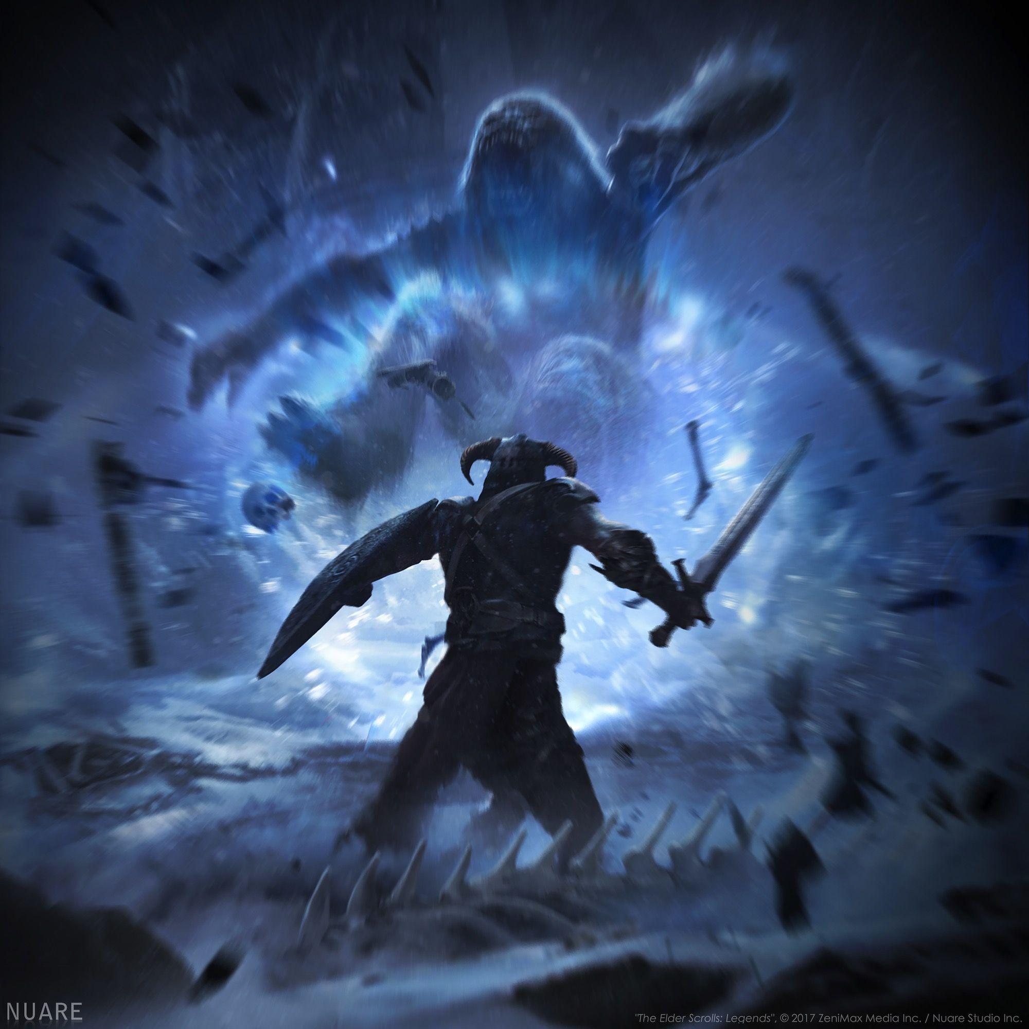 Unrelenting Force_2000x2000 | wow! | Elder scrolls, Skyrim