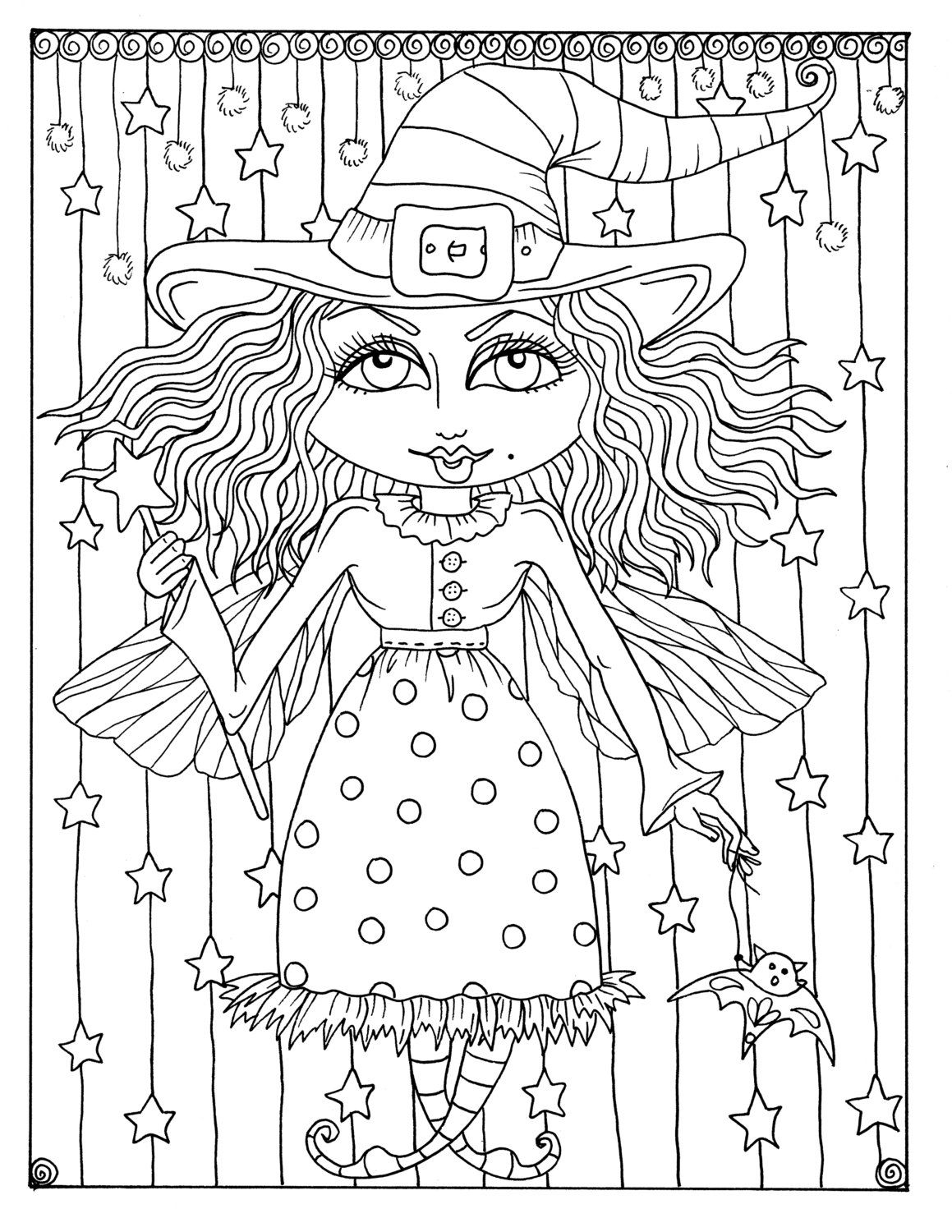 Pin by Ceciley Marlar on Halloween Coloring Pages | Pinterest ...