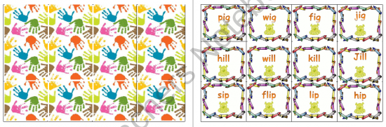 Short Vowel i - Word Family Game product from KJ-Teaching on TeachersNotebook.com