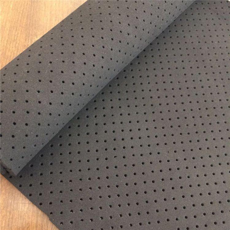 Perforeated Neoprene Rubber Sheet 2mm 3mm 4mm Open Cell